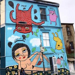 Mon Laforte. Mural